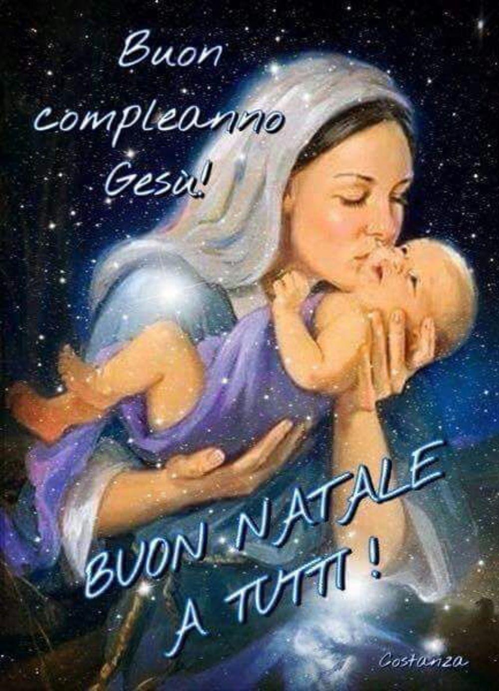 Immagini Natalizie Religiose.Buon Natale A Tutti Auguri Immagini Religiose Gesutiama It