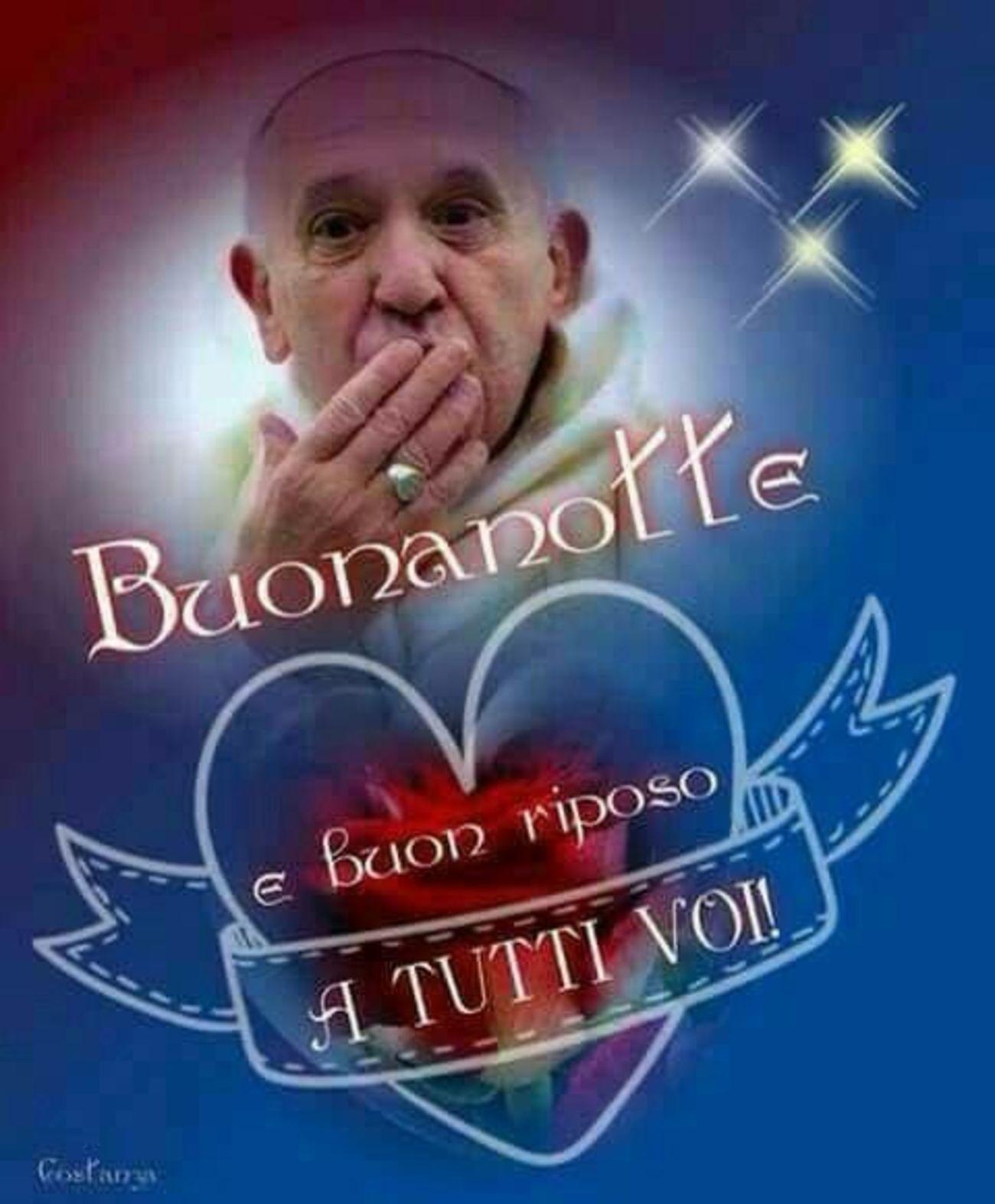 Frasi Di Buonanotte Papa.Buona Notte Con Papa Francesco Gesutiama It