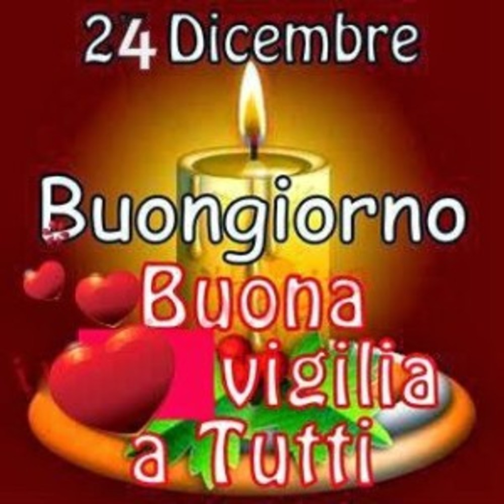 Buona Vigilia di Natale immagini religiose