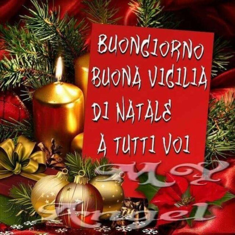 Frasi Buongiorno Vigilia Di Natale.Buona Vigilia Di Natale Immagini Sacre Gesutiama It