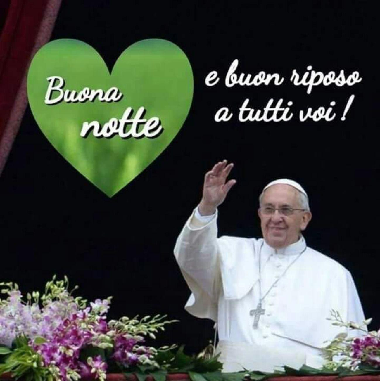 Buonanotte Papa Francesco