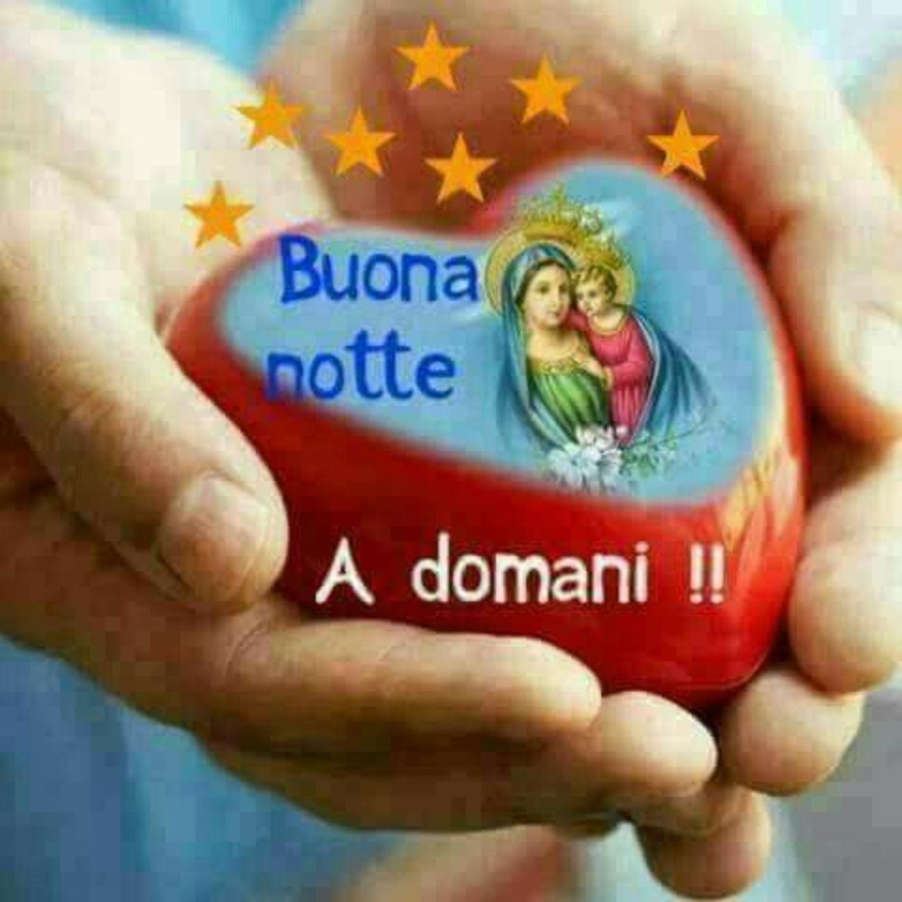 Buonanotte A Domani Con La Madonna Gesutiamait