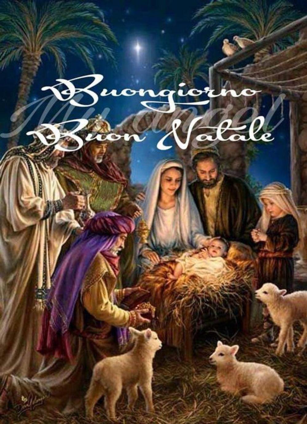Immagini Sacre Di Buon Natale.Buongiorno Buon Natale Immagini Sacre Gesutiama It