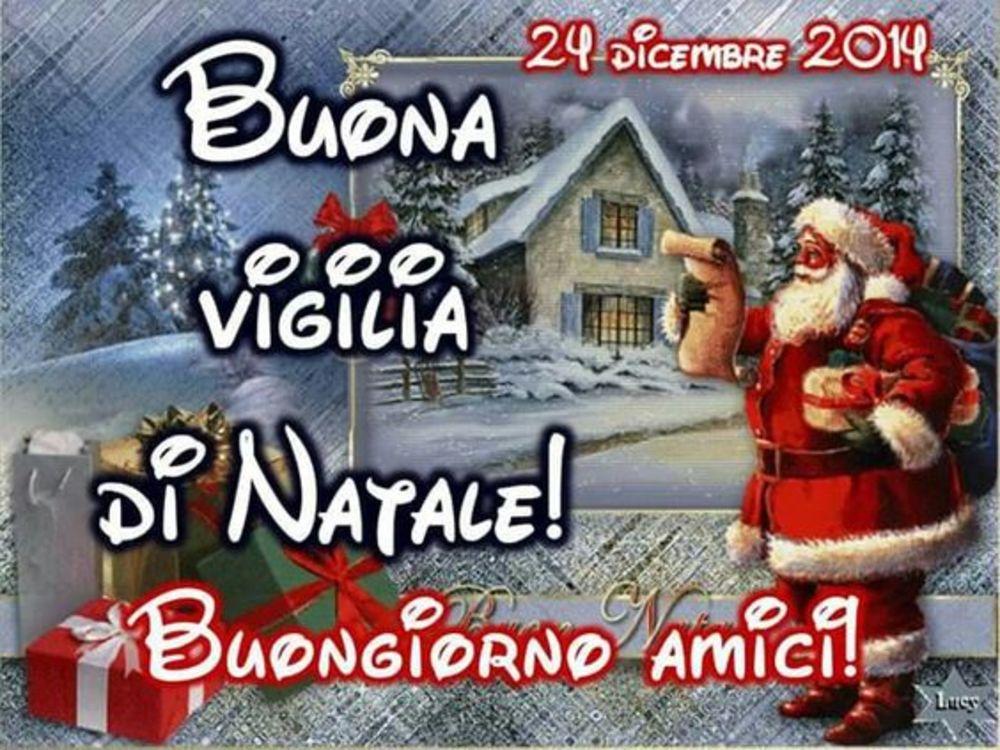 Immagini per 24 Dicembre con Babbo Natale