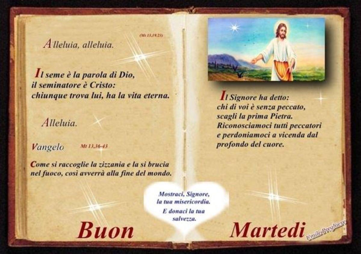 Buon Martedì con Gesù