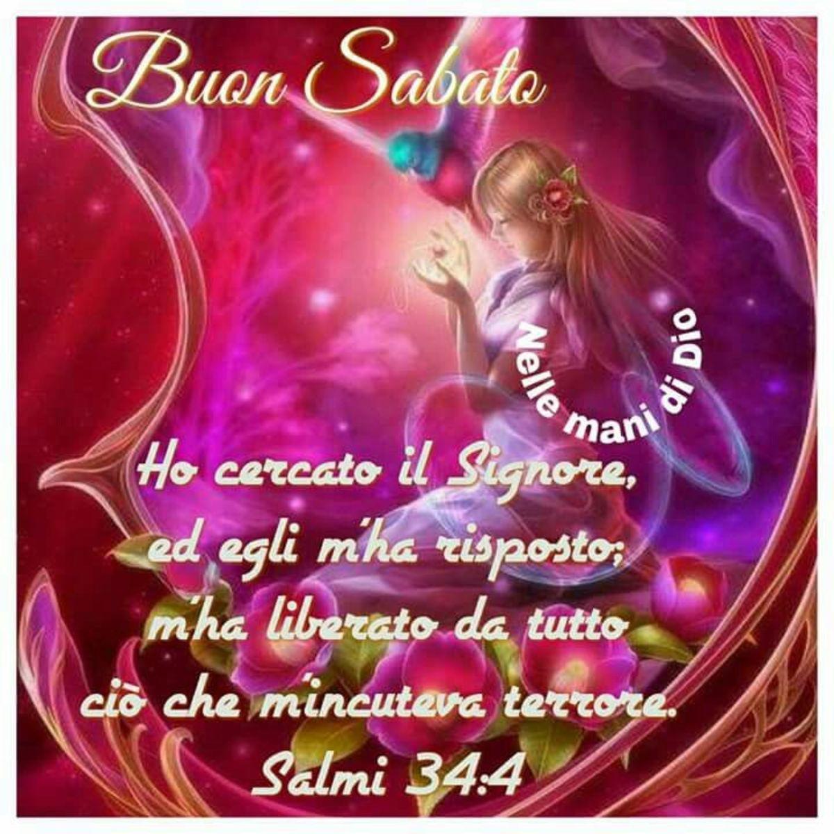 Buon Sabato con frasi della Bibbia