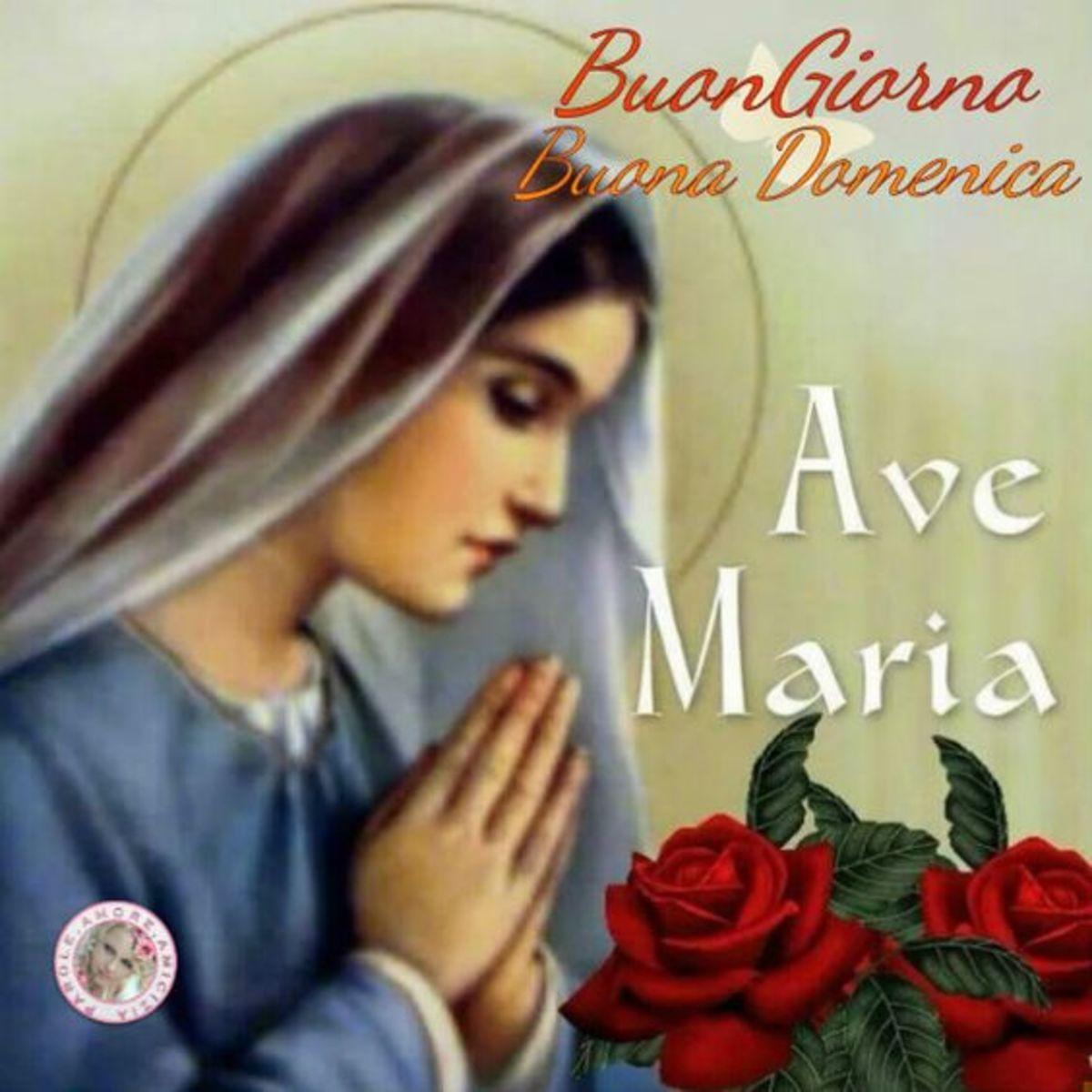Buona Domenica con La Madonna 3 2