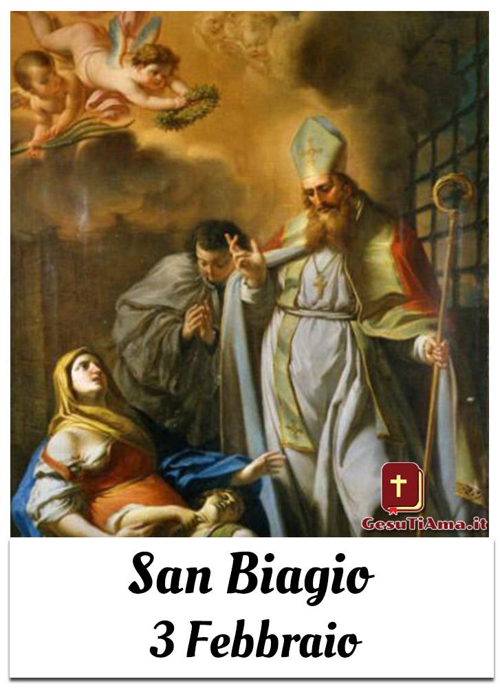 San Biagio 3 Febbraio immagini religiose