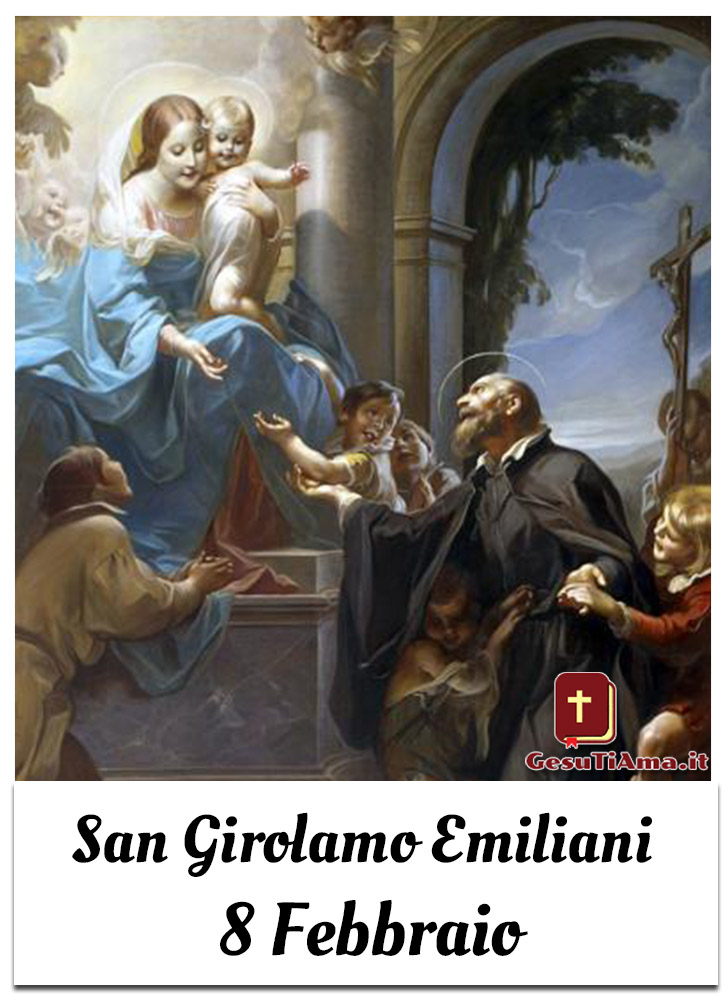 San Girolamo Emiliani 8 Febbraio immagini e foto