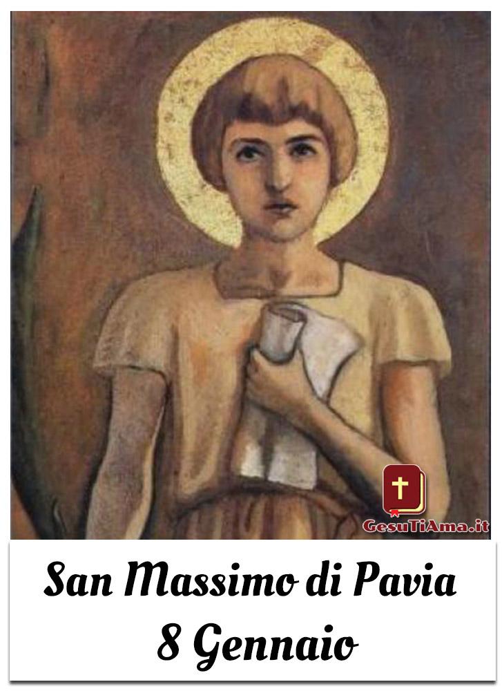 San Massimo di Pavia 8 Gennaio