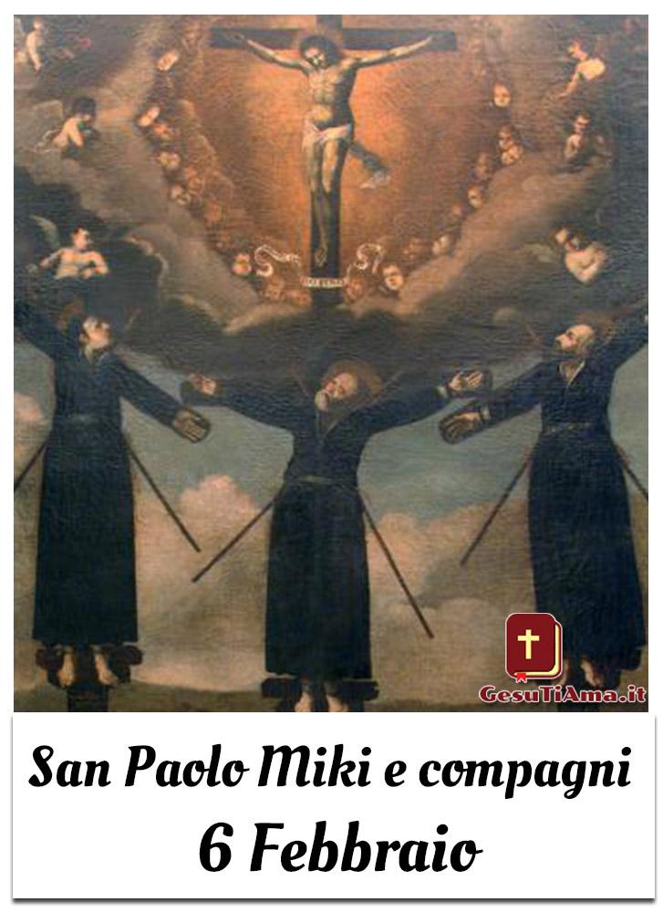 San Paolo Miki e compagni 6 Febbraio