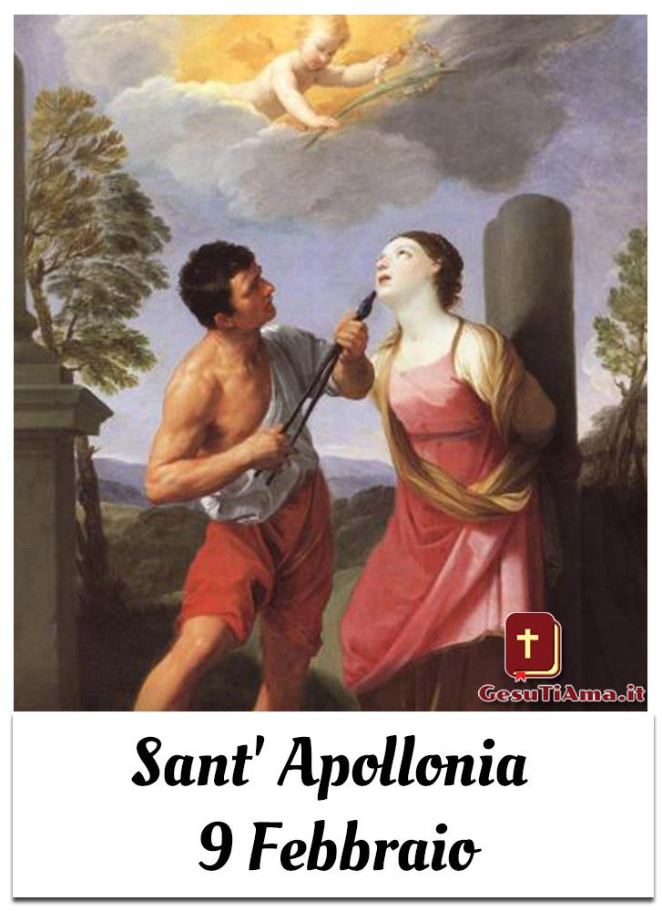 Sant' Apollonia 9 Febbraio Santo del Giorno