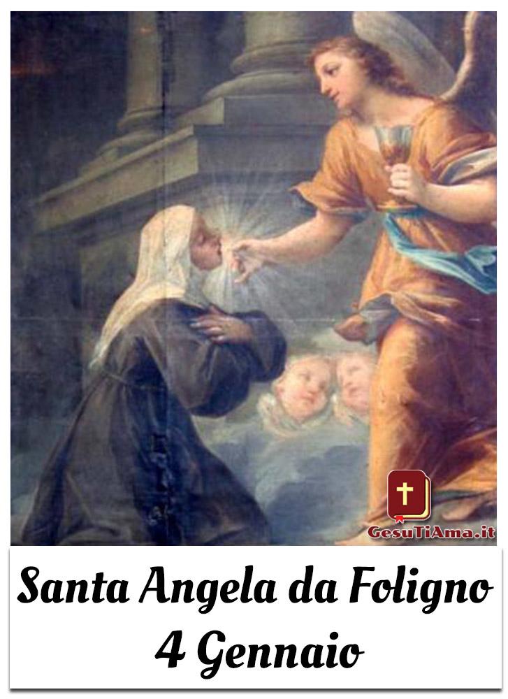 Santa Angela da Foligno 4 Gennaio