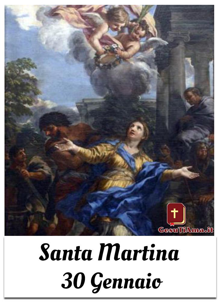 Santa Martina 30 Gennaio immagini per Gruppi Facebook