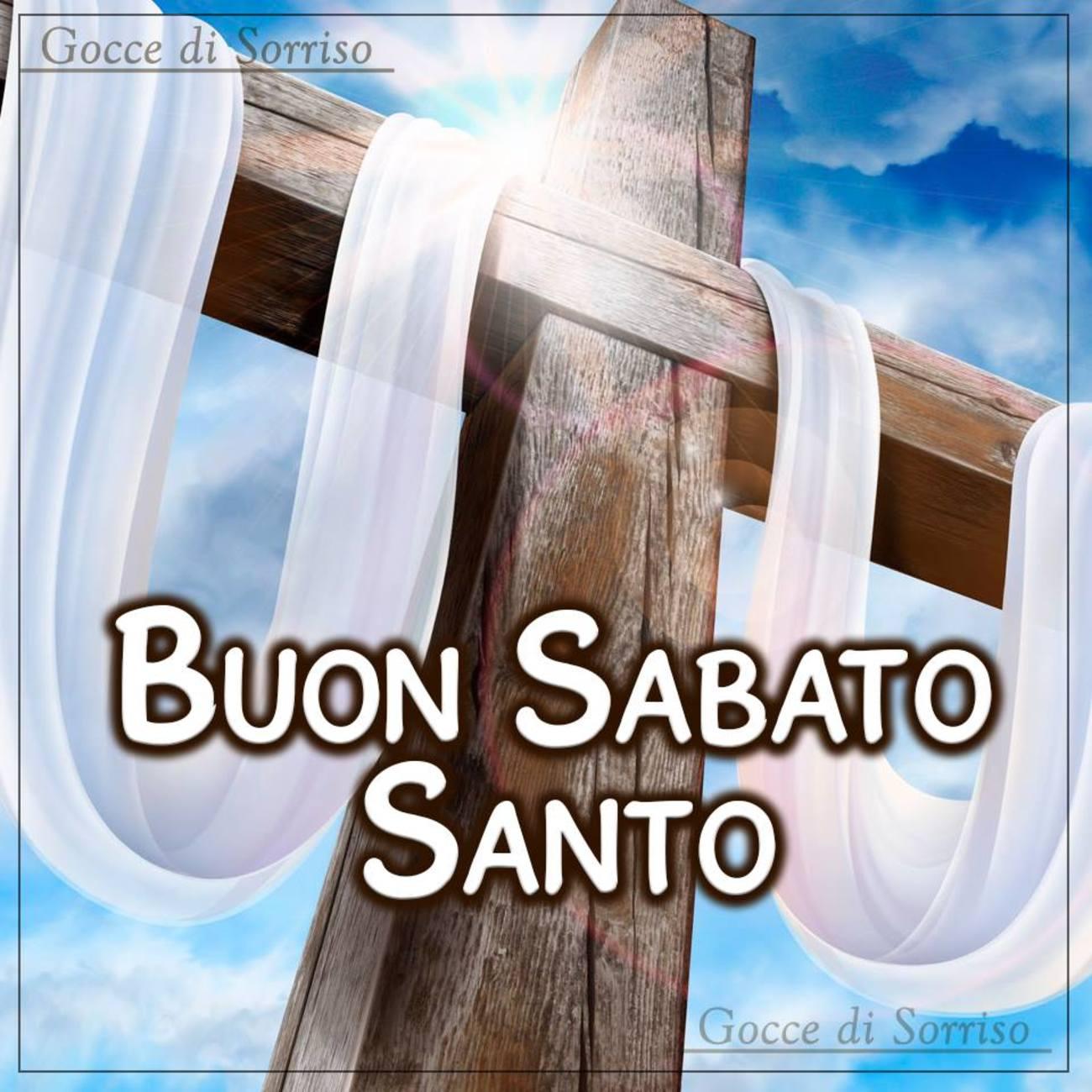 Buon Sabato Santo immagini religiose