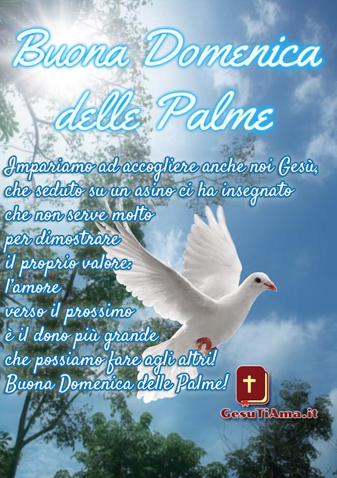 Buona Domenica delle Palme frasi religiose