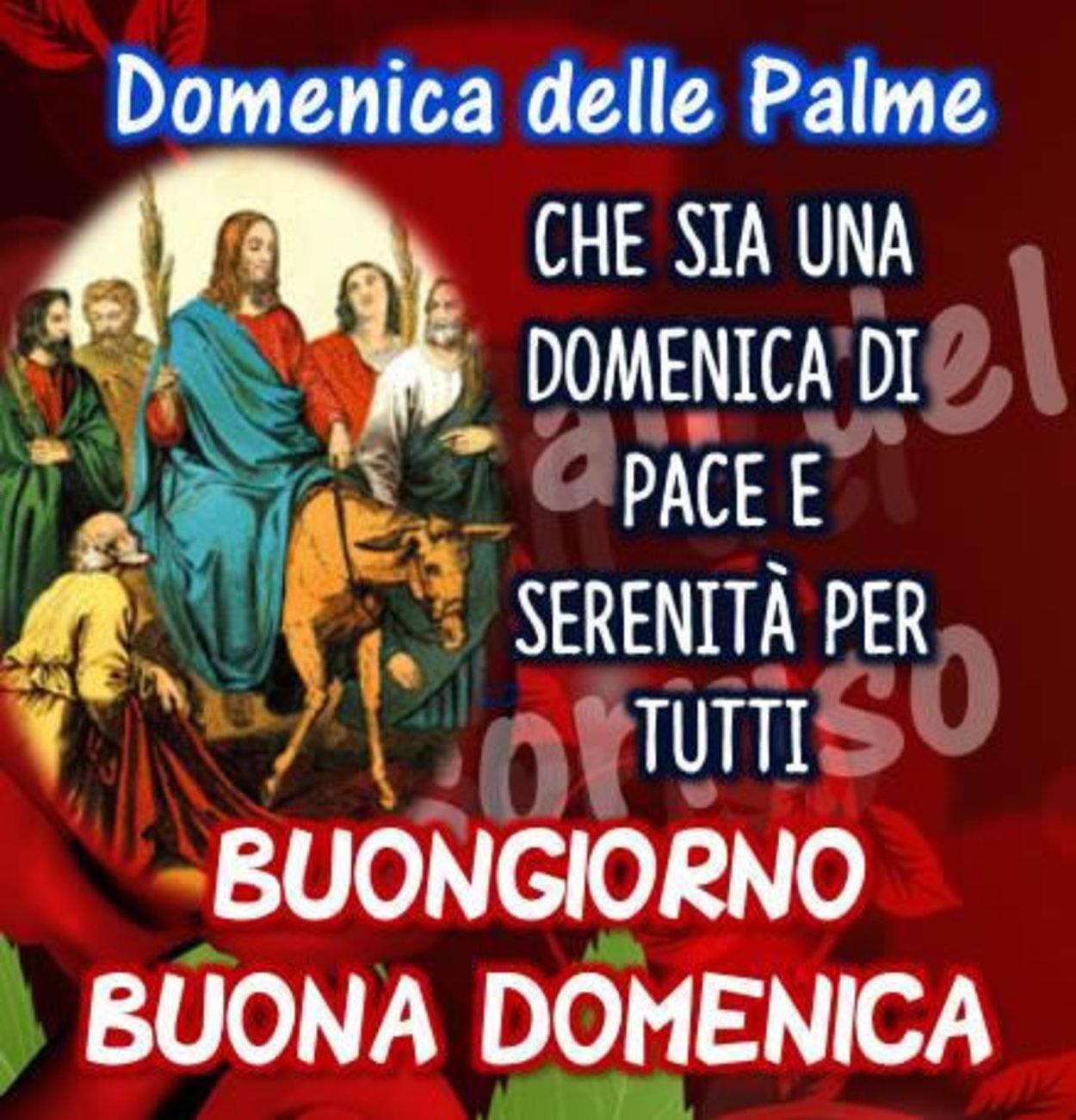 Buona Domenica delle Palme immagini cristiane 630