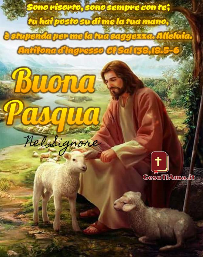 Buona Pasqua con Gesù immagini nuove
