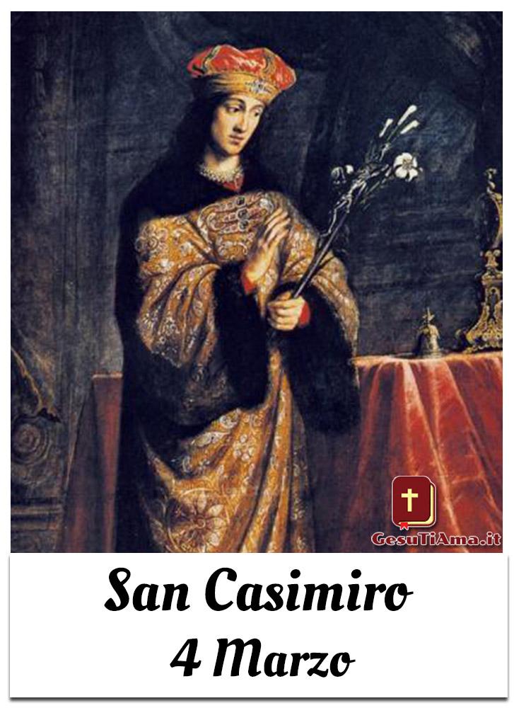 San Casimiro 4 Marzo
