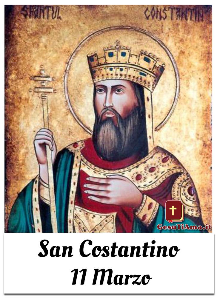San Costantino 11 Marzo per Gruppi di Preghiera