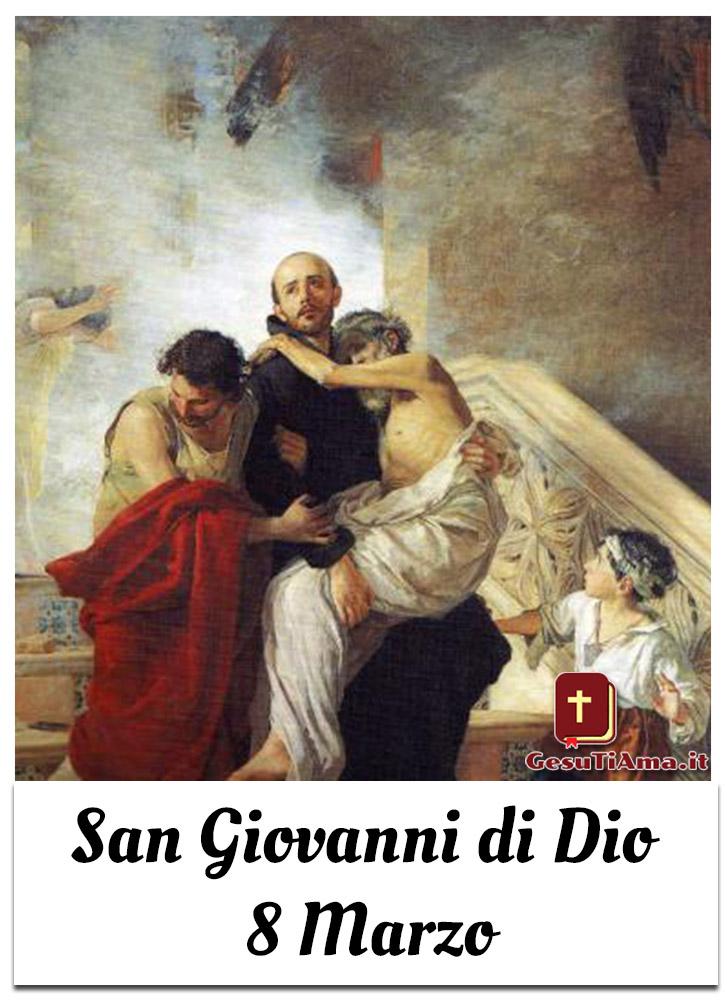 San Giovanni di Dio 8 Marzo Santi e Beati