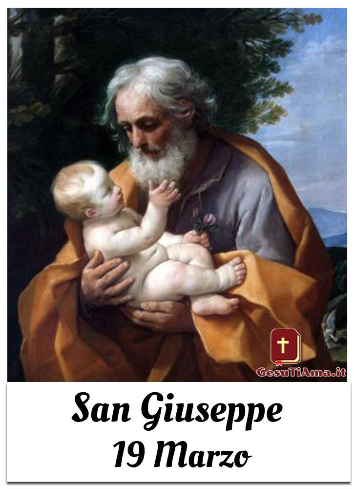 San Giuseppe 19 Marzo immagini religiose belle