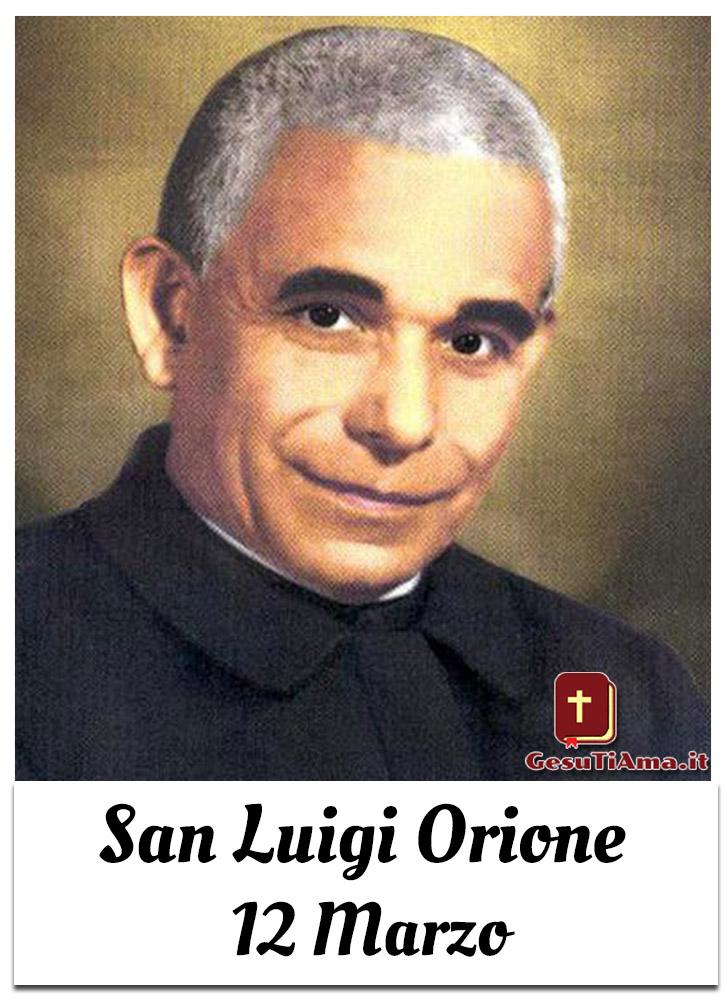 San Luigi Orione 12 Marzo immagini