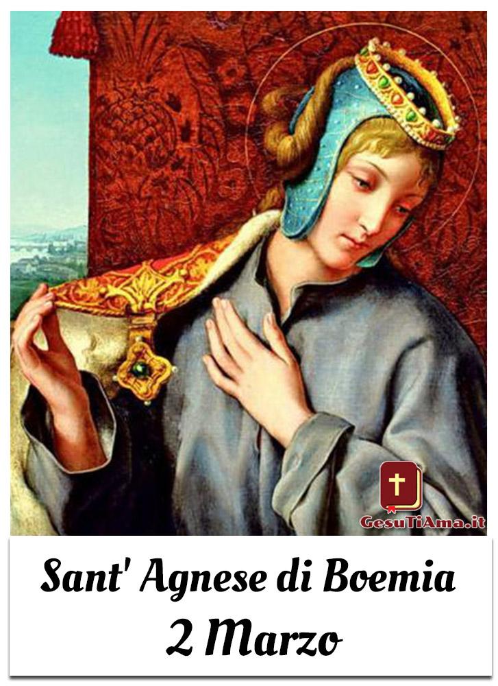 Sant' Agnese di Boemia 2 Marzo immagini sacre