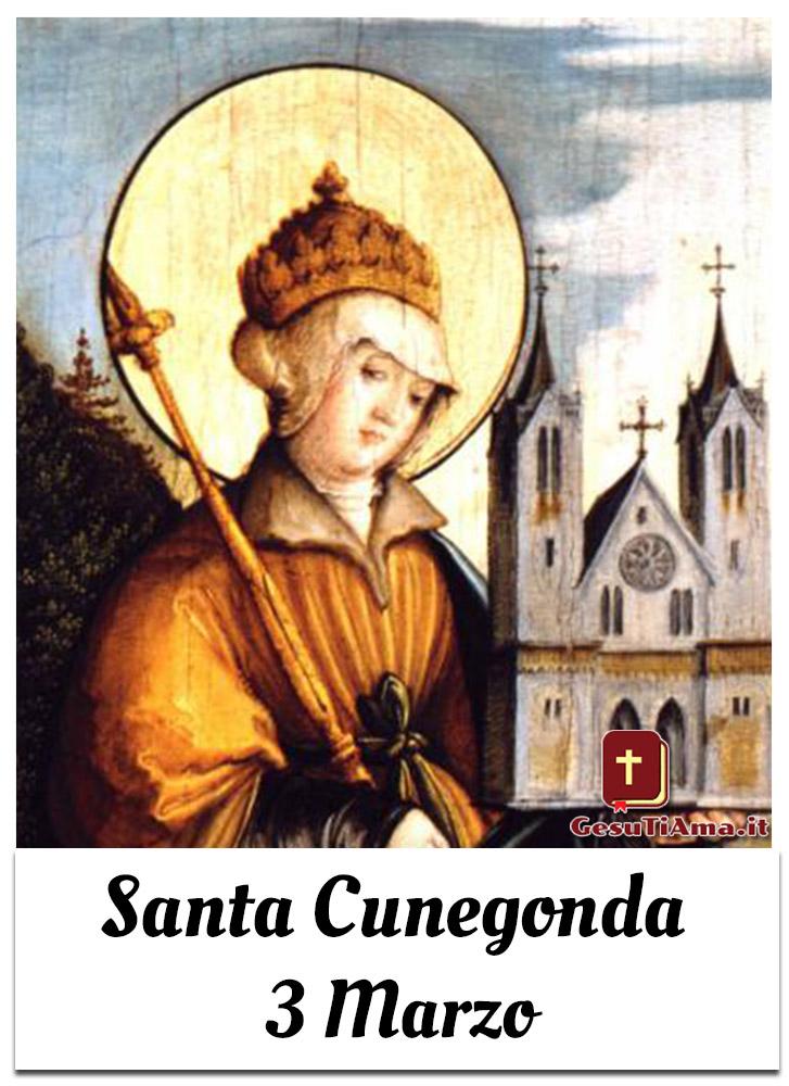 Santa Cunegonda 3 Marzo immagini cristiane