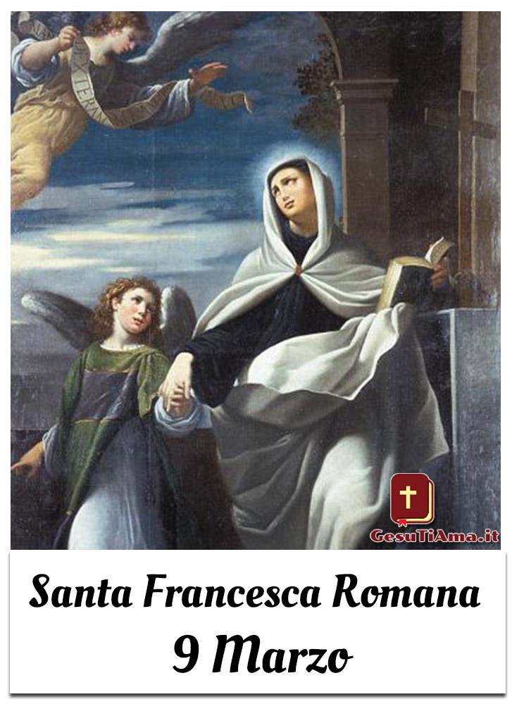 Santa Francesca Romana 9 Marzo Santini da condividere