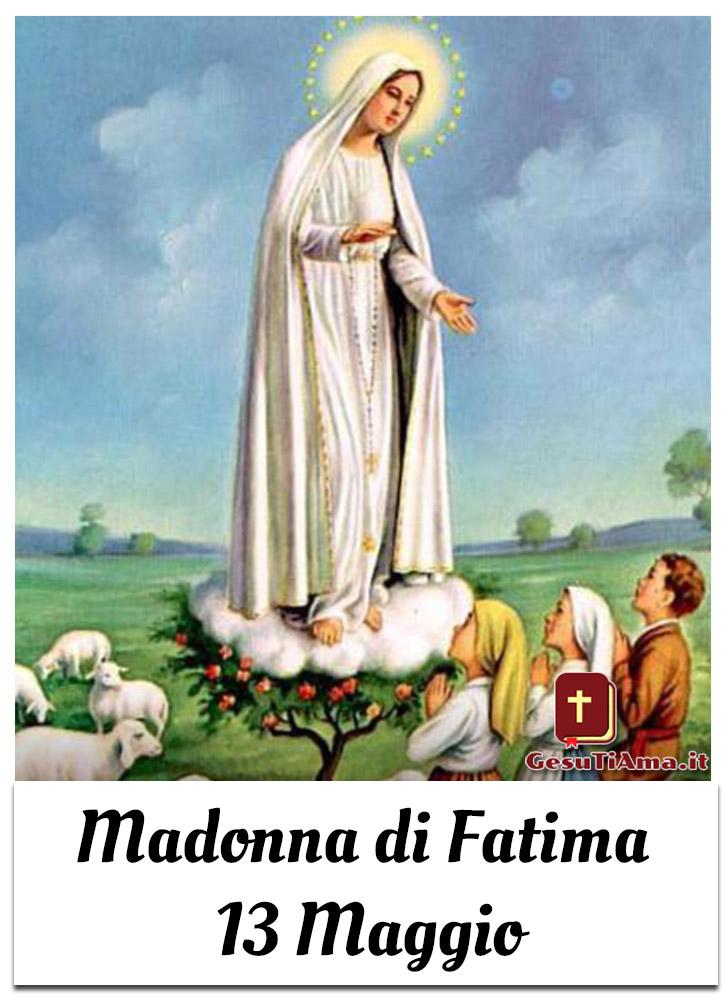 Madonna di Fatima 13 Maggio bellissime immagini religiose