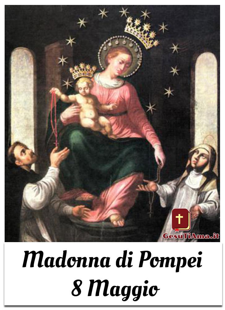 Madonna di Pompei 8 Maggio immagini con icone sacre