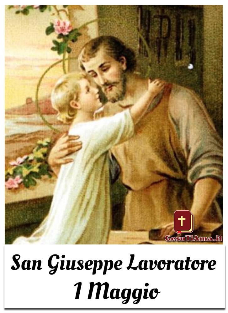 San Giuseppe Lavoratore 1 Maggio