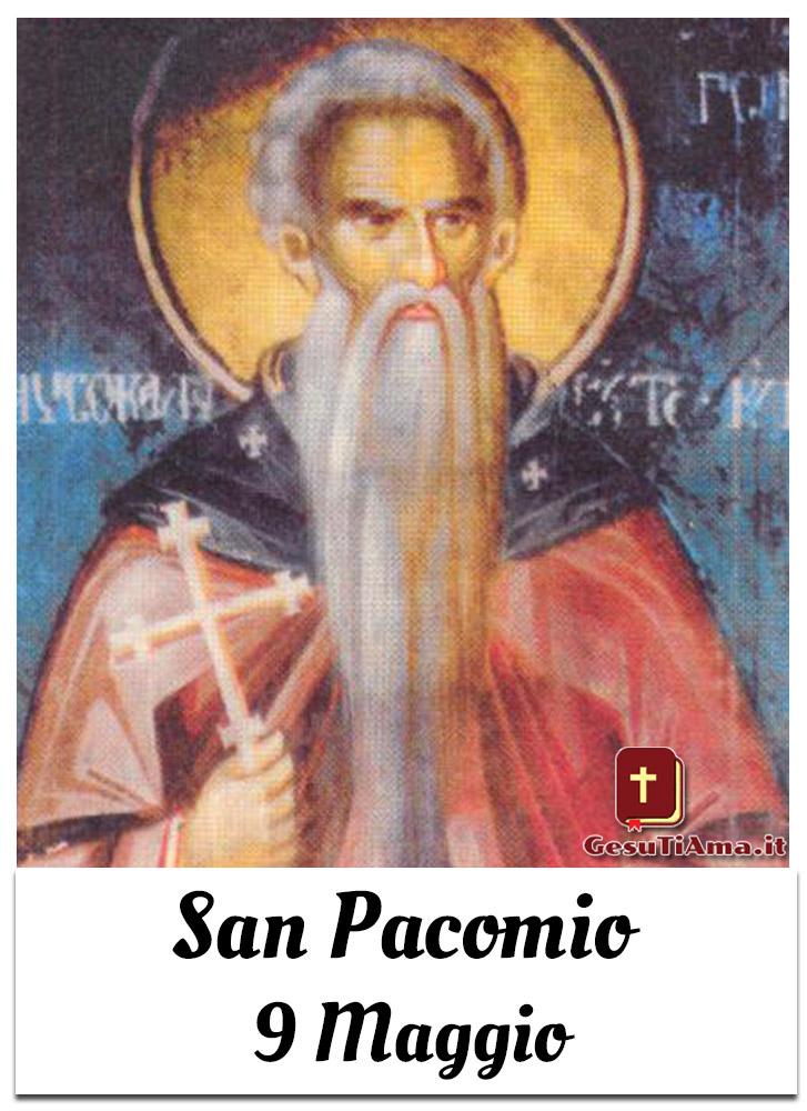 San Pacomio 9 Maggio
