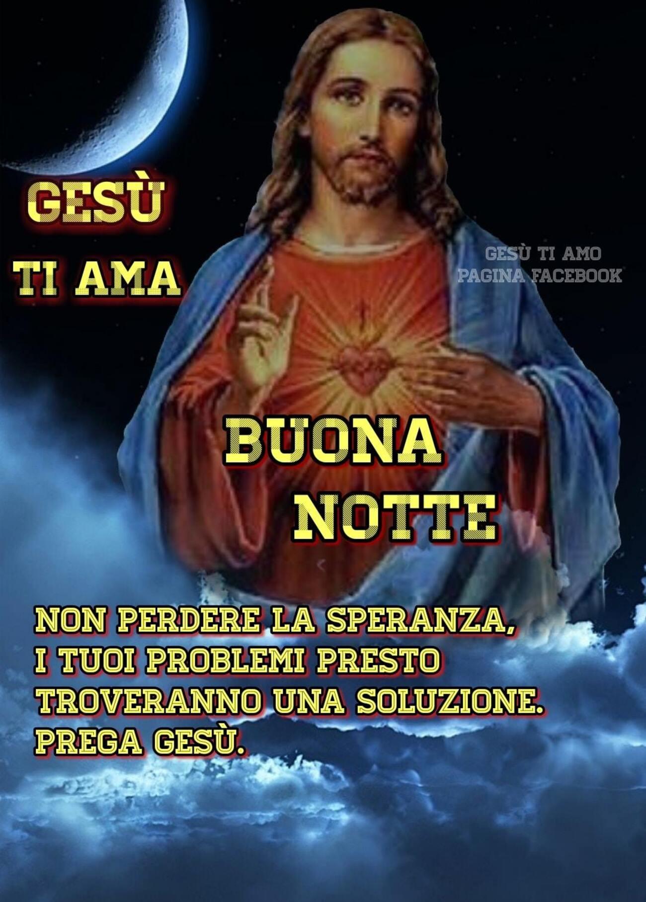 Buonanotte con Gesù immagini nuove (1)