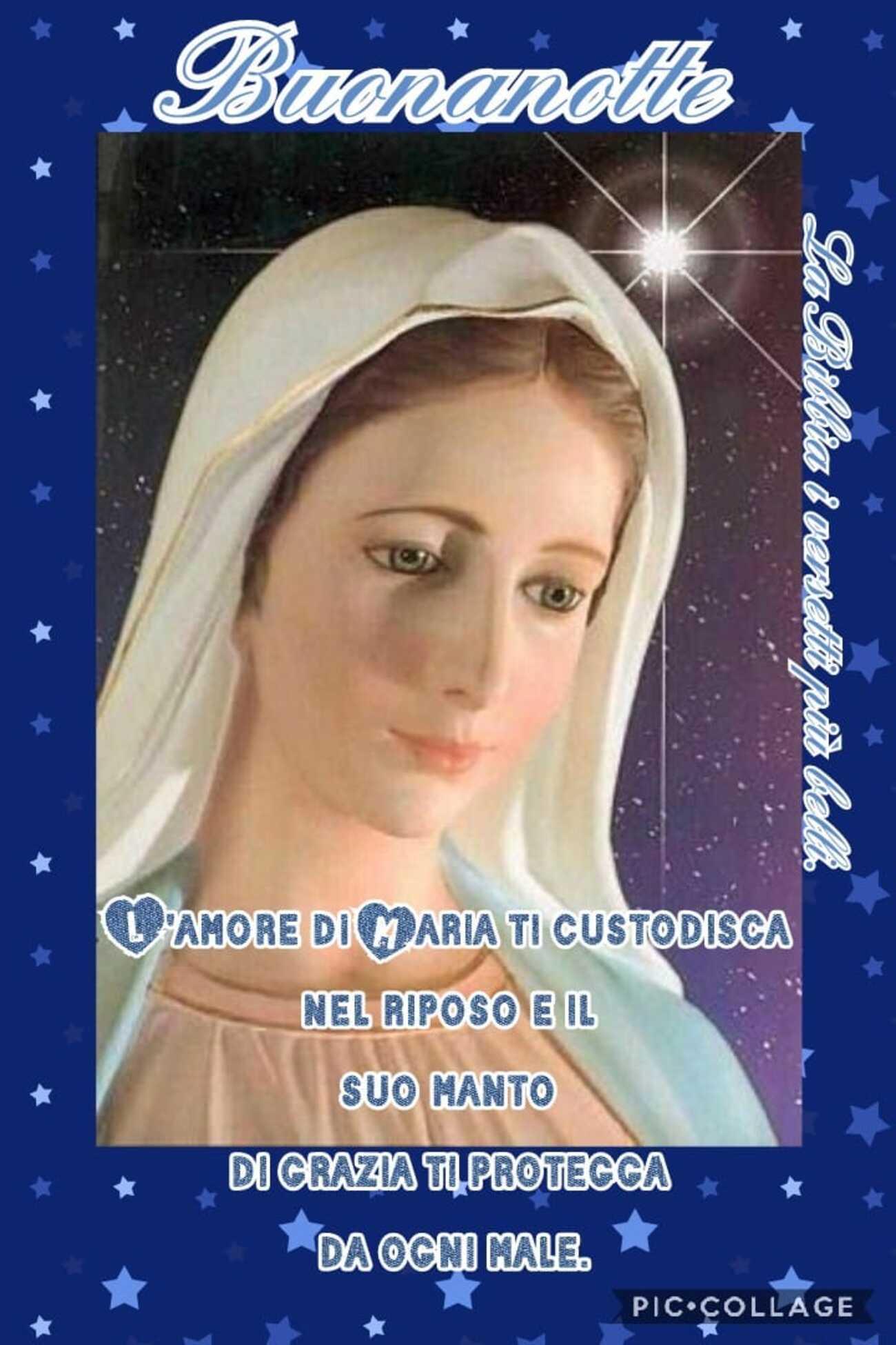 Buonanotte con la Madonna immagini nuovissime (4)